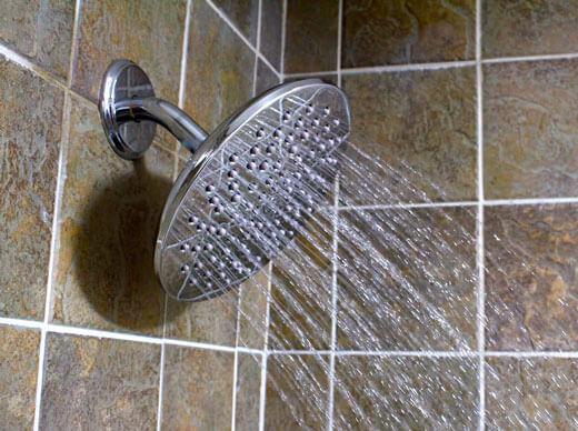 shower head water pressure plumbing