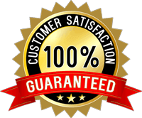 Customer Satisfaction 100% Gauaranteed